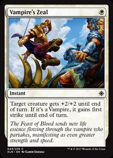 MAGIC THE GATHERING IXALAN Card - 043/289 : Vampire's Zeal
