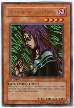 Yu-Gi-Oh! Card MRD-E116 Witch of the Black Forest