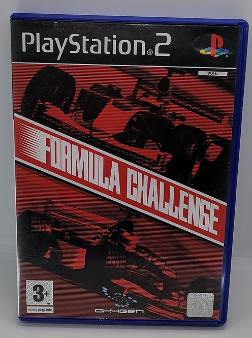 Formula Challenge for Sony PlayStation 2 PS2