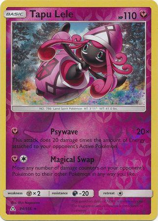 POKEMON Card SM - ULTRA PRISM - 094/156 : Tapu Lele (Reverse Holo)