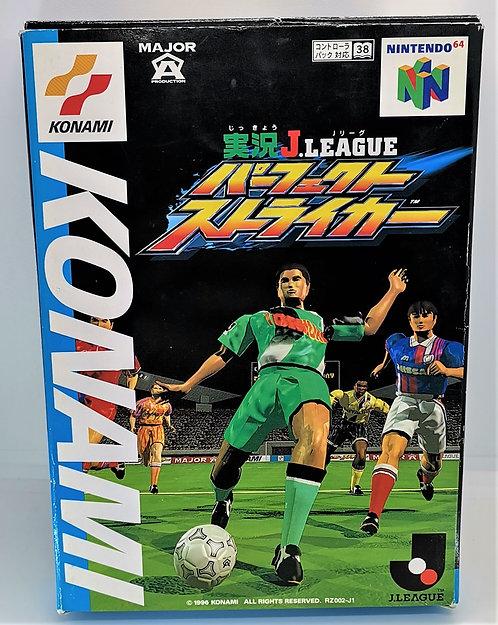 Jikkyou J-League Perfect Striker for Nintendo N64