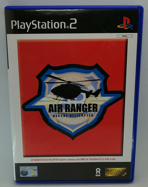 Air Ranger: Rescue Helicopter for Sony PlayStation 2 PS2