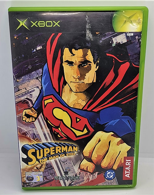 Superman: The Man of Steel for Microsoft Xbox