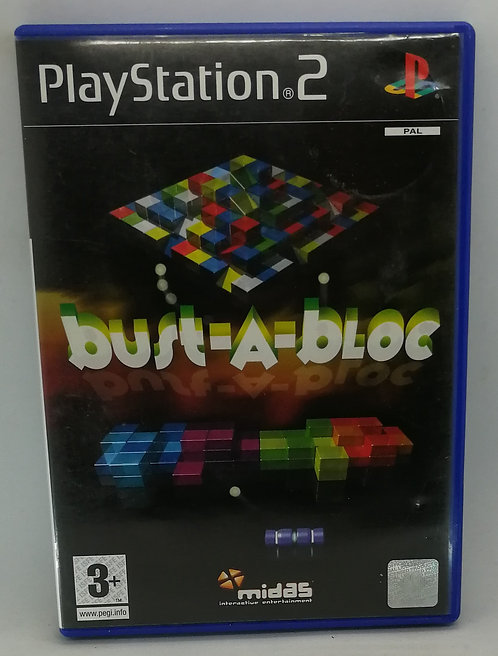 Bust-A-Bloc for Sony PlayStation 2 PS2