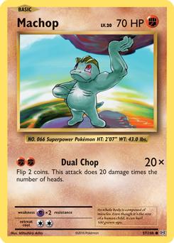 Pokemon Single Card XY - EVOLUTIONS - 057/108 : Machop