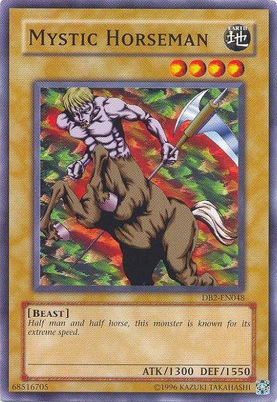 Yu-Gi-Oh! Card SKE-007 Mystic Horseman