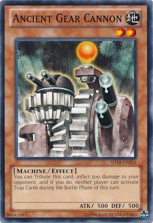 Yu-Gi-Oh! Card SD10-EN016 Ancient Gear Cannon