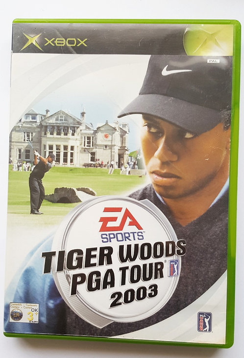 Tiger Woods PGA Tour 2003 for Microsoft Xbox