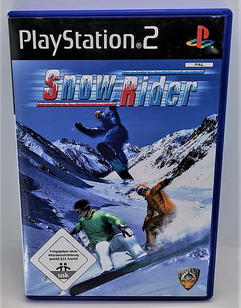 Snow Rider for Sony PlayStation 2 PS2