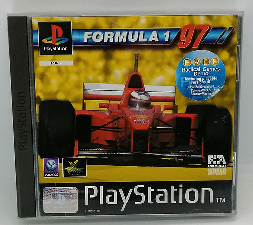 Formula 1 97 for Sony PlayStation PS1