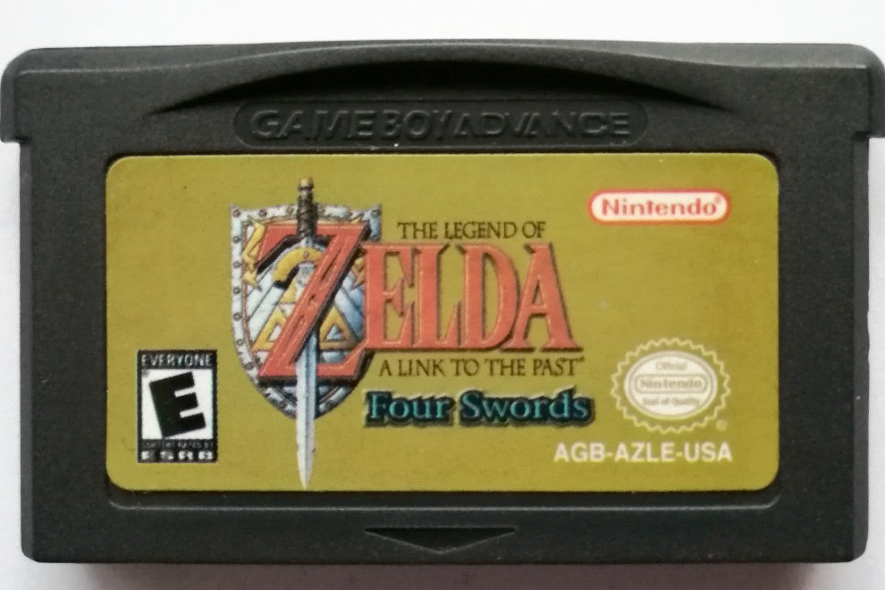 The Legend of Zelda: A Link to the Past and Four Swords for Nintendo GBA