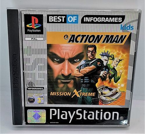 Action Man: Mission Xtreme for Sony PlayStation PS1