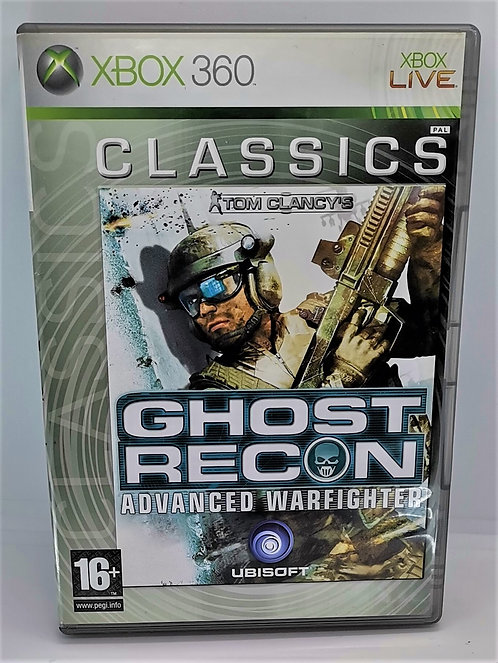 Tom Clancy's Ghost Recon: Advanced Warfighter for Microsoft Xbox 360