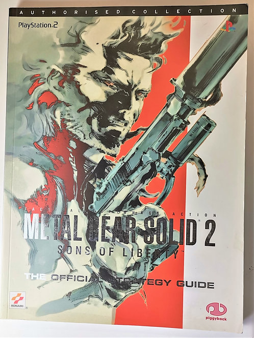 Metal Gear Solid 2: Sons of Liberty Strategy Guide