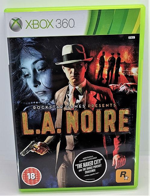 L.A. Noire for Microsoft Xbox 360