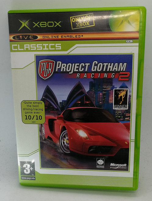 Project Gotham Racing 2 for Microsoft Xbox
