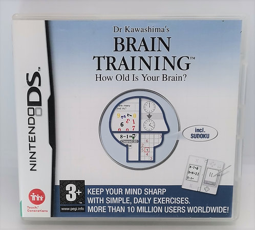 Dr. Kawashima's Brain Training: How Old Is Your Brain? for Nintendo DS