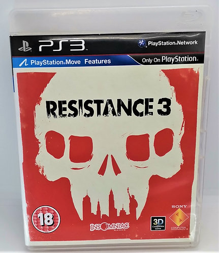 Resistance 3 for Sony PlayStation 3 PS3