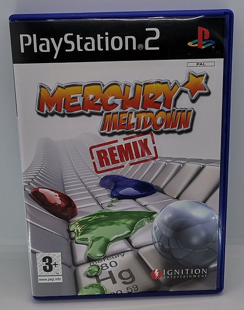 Mercury Meltdown Remix for Sony PlayStation 2 PS2