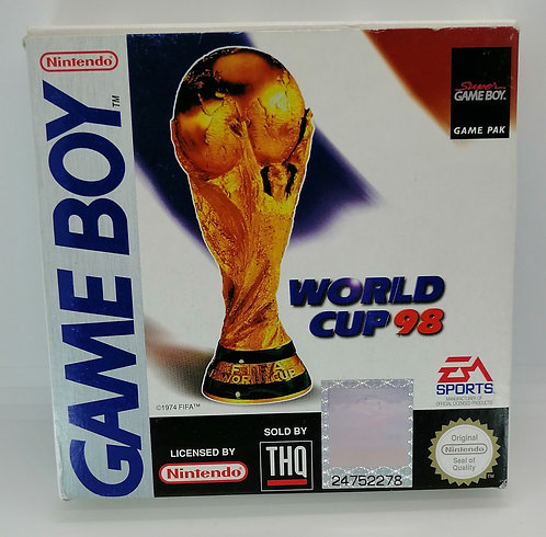 World Cup 98 for Nintendo Game Boy