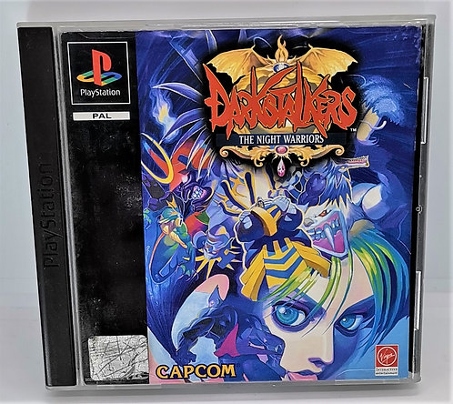 Darkstalkers: The Night Warriors for Sony PlayStation PS1