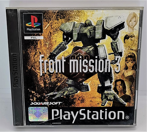 Front Mission 3 for Sony PlayStation PS1