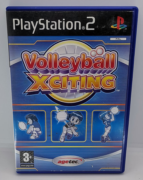 Volleyball Xciting for Sony PlayStation 2 PS2
