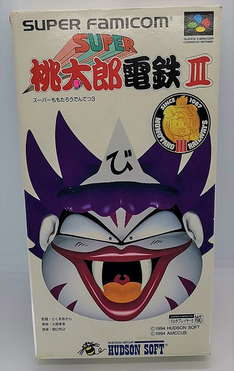 Super Momotarou Dentetsu III (3) for Nintendo Super Famicom