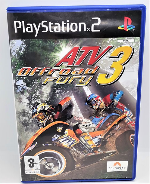 ATV Offroad Fury 3 for Sony PlayStation 2 PS2