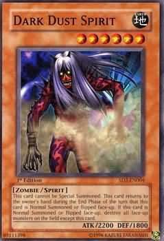 Yu-Gi-Oh! Card SD2-EN004 Dark Dust Spirit