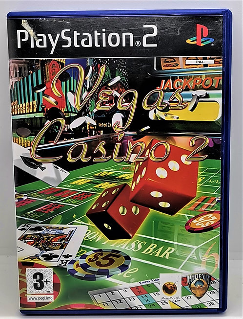 Vegas Casino 2 for Sony PlayStation 2 PS2