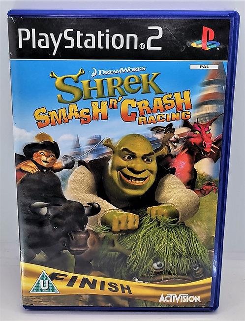 Shrek Smash n' Crash Racing for Sony PlayStation 2 PS2