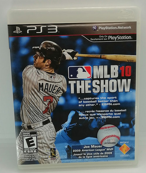 MLB 10: The Show for Sony PlayStation 3 PS3