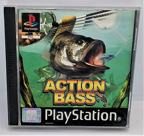 Action Bass for Sony PlayStation PS1