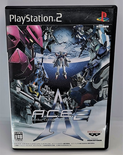 A.C.E. Another Century's Episode 2 for Sony PlayStation 2 PS2