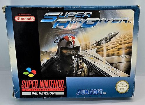 Super Air Diver for Super Nintendo SNES