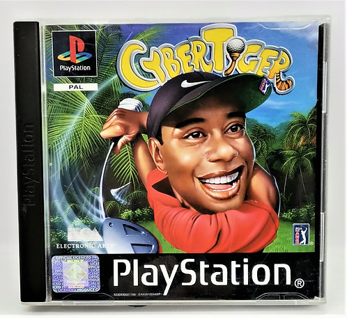 CyberTiger for Sony PlayStation PS1