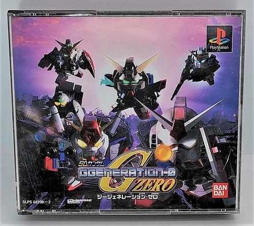 SD Gundam G Generation Zero for Sony PlayStation PS1