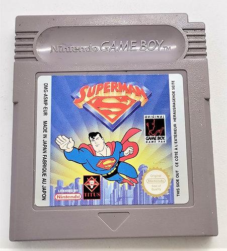 Superman for Nintendo Game Boy