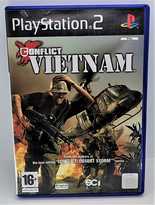 Conflict: Vietnam for Sony PlayStation 2 PS2