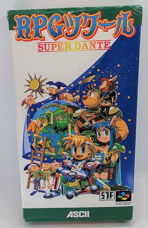 RPG Tsukuru: Super Dante for Nintendo Super Famicom