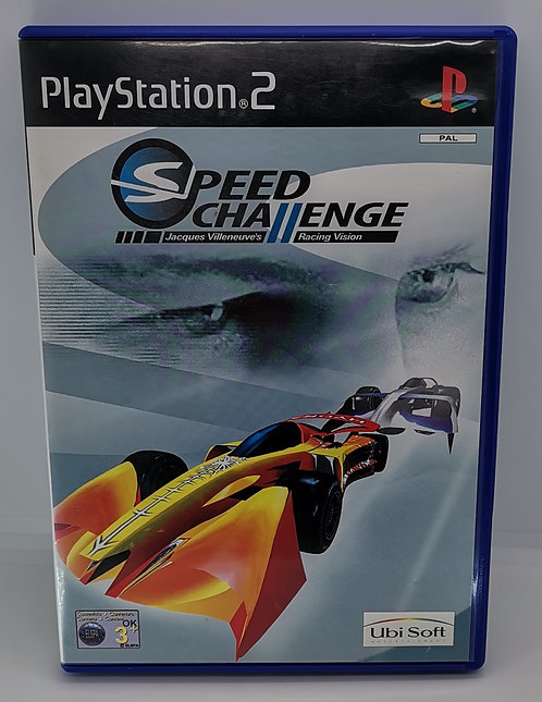 Speed Challenge - Jacques Villeneuve's Racing Vision for Sony PlayStation 2 PS2