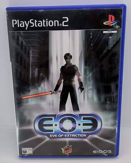 EOE: Eve of Extinction for Sony PlayStation 2 PS2