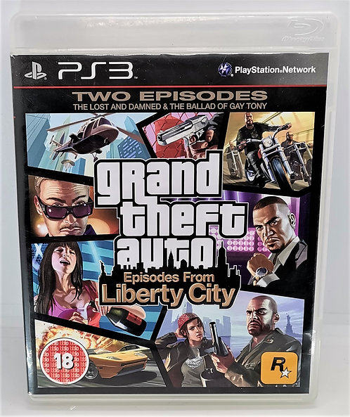 Grand Theft Auto: Episodes from Liberty City for Sony PlayStation 3 PS3