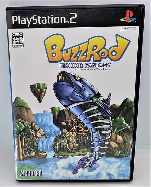 Fishing Fantasy: Buzzrod for Sony PlayStation 2 PS2