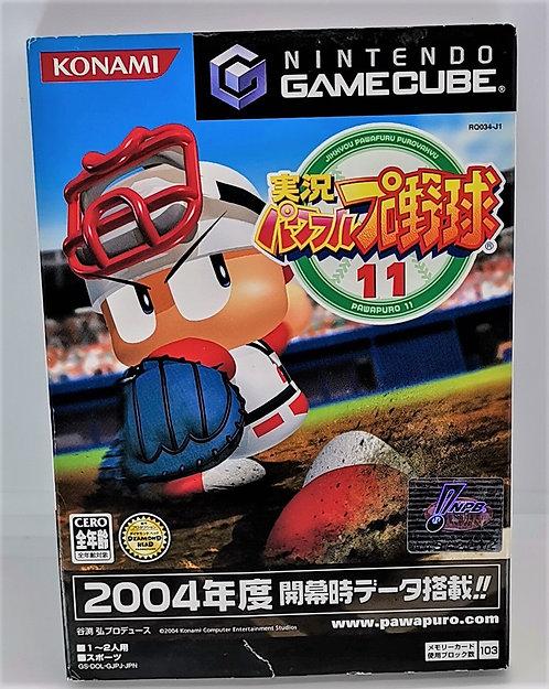 Jikkyou Powerful Pro Yakyuu 11 for Nintendo GameCube