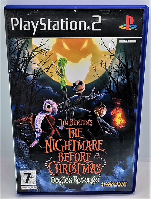 The Nightmare Before Christmas: Oogie's Revenge for Sony PlayStation 2 PS2