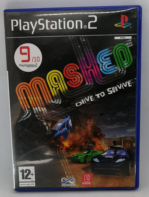 Mashed: Drive to Survive for Sony PlayStation 2 PS2