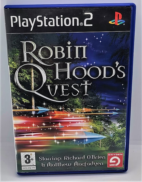 Robin Hood's Quest for Sony PlayStation 2 PS2