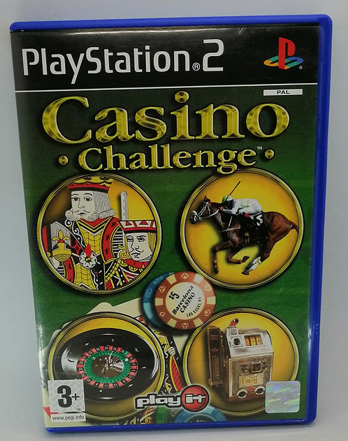 Casino Challenge for Sony PlayStation 2 PS2